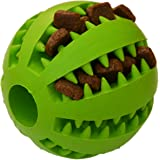 Zenify Puppy Toys Dog Toy Puppy Treat Training Behaviour Ball - Interactive Stimulation Gift for Smarter Dogs and Puppies (Green (Large))