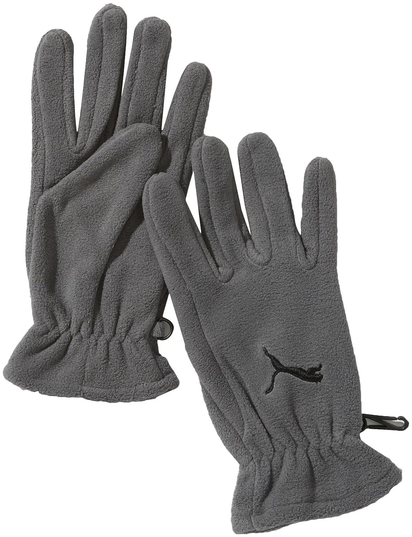 Puma Paire de gants en polaire Fundamentals Blanc Blanc/violet s hVMMSah