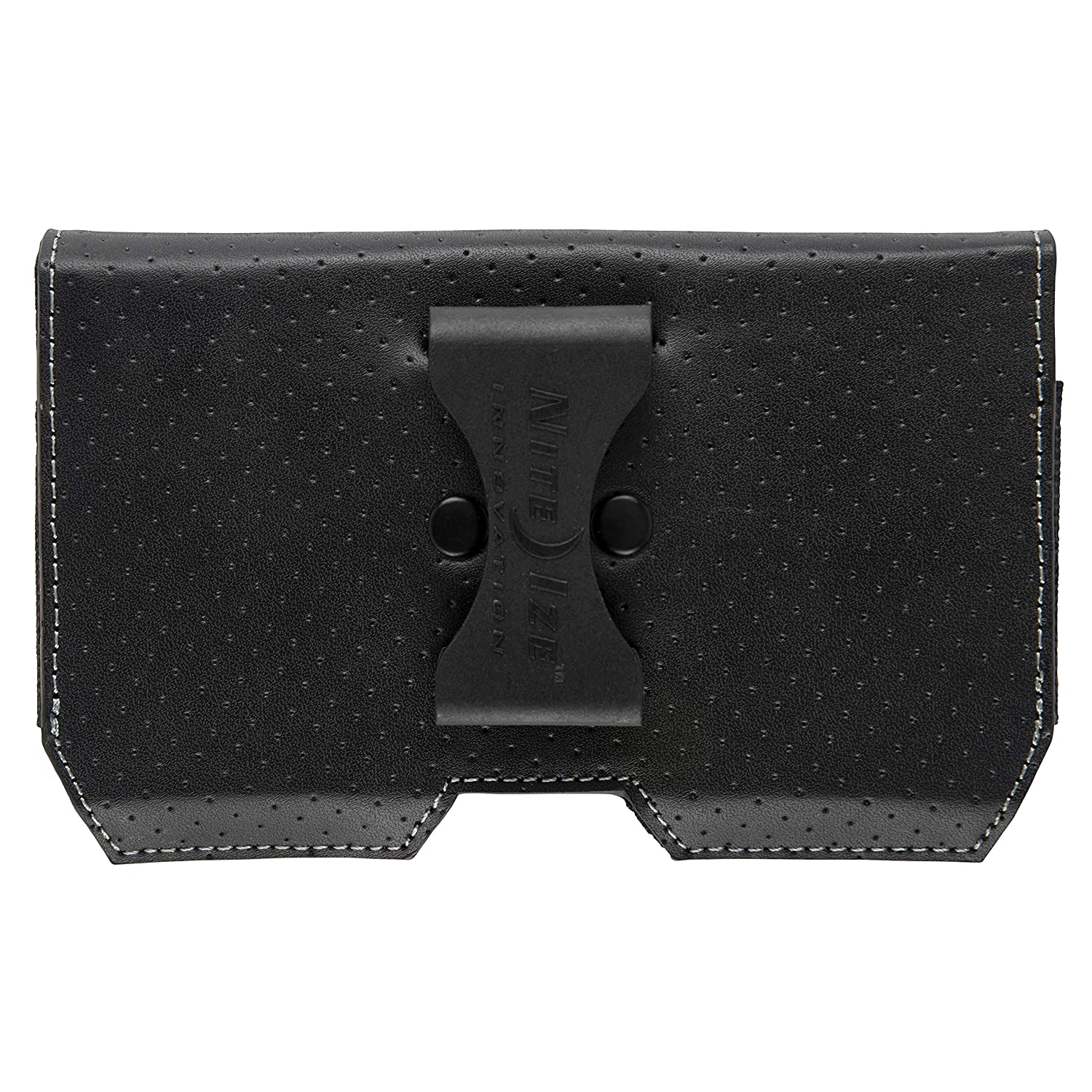 Low Profile Leather Large Nite Ize Clip Case Executive Holster Mobile Phone Case