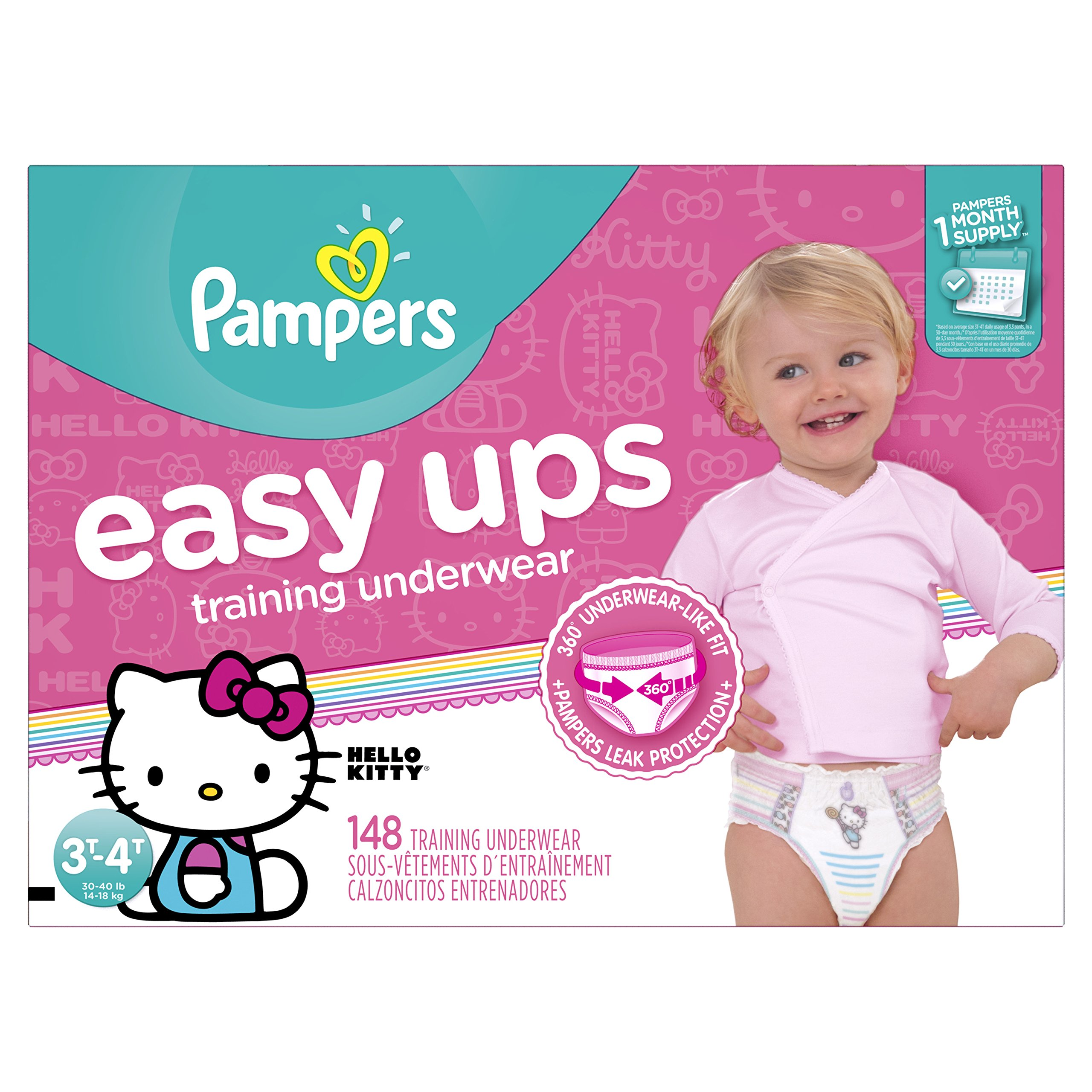 Amazon pampers easy ups training pants pull on disposable pampers easy ups training pants pull on disposable diapers for girls size 5 3t nvjuhfo Image collections