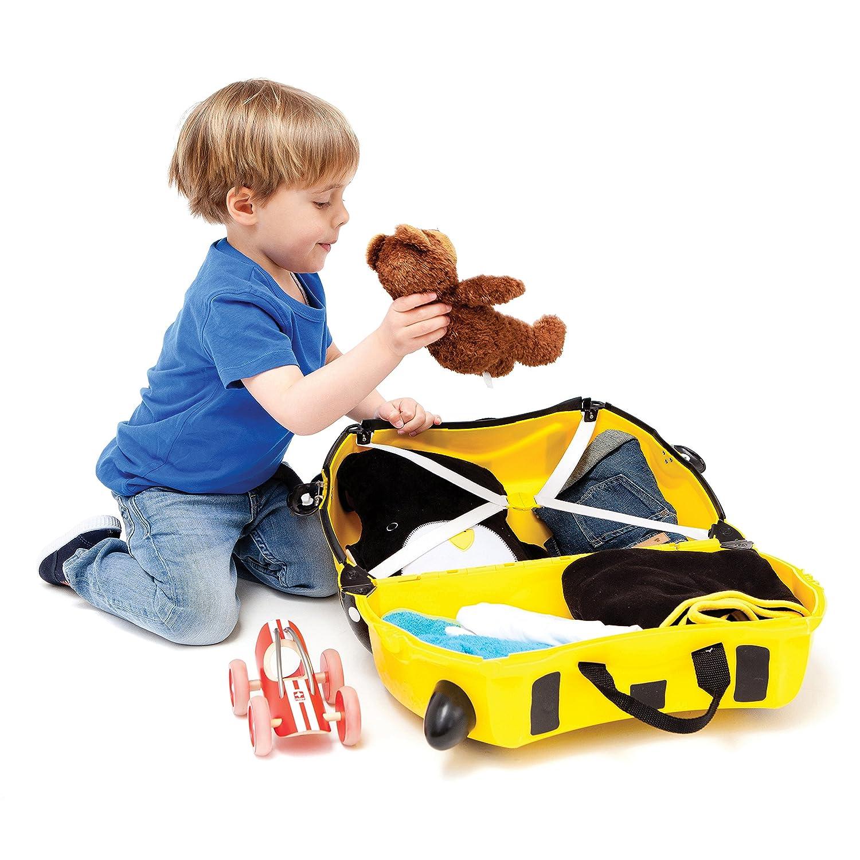 Amazon.com: Trunki: The Original Ride-On Suitcase NEW, Bernard ...