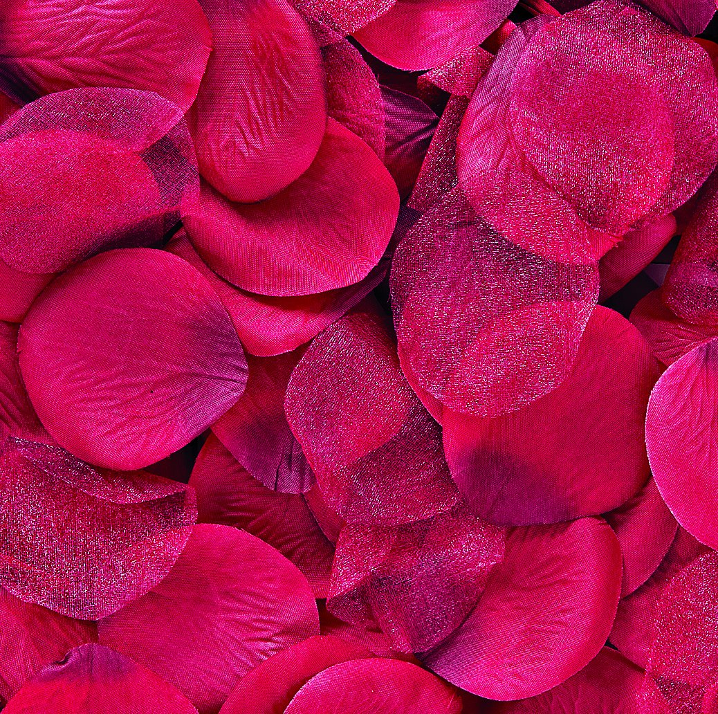 Wilton Decor Petals with Organza, Red, 300/Pack