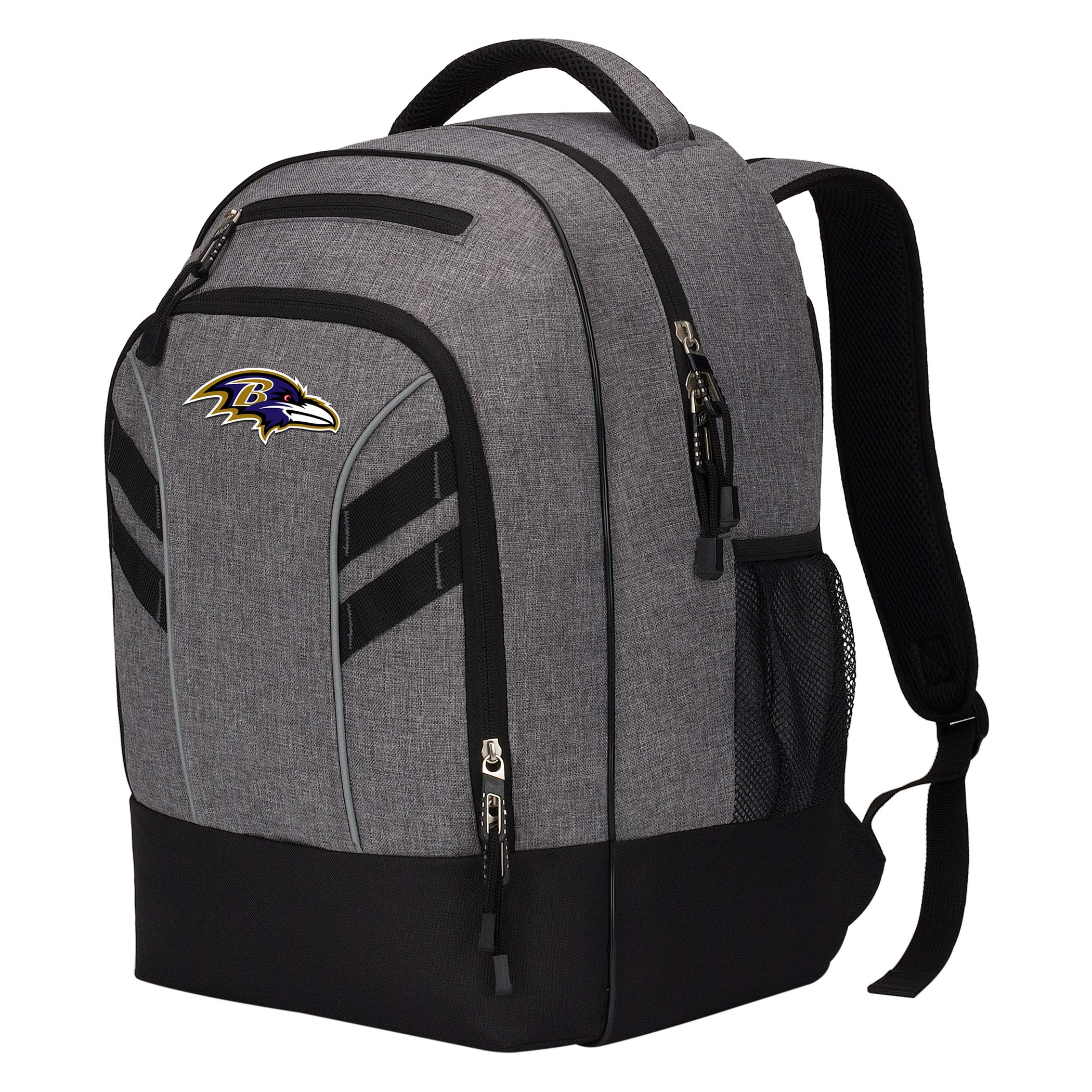 The Northwest Company Officially Licensed NFL Baltimore Ravens Razor Backpack, Black, One Size by The Northwest Company