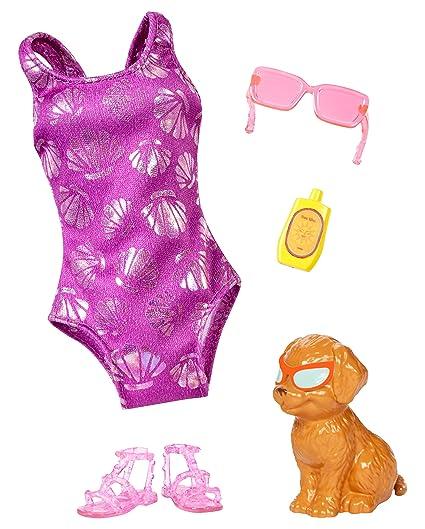 8e181b65c5cfd Amazon.com  Barbie Dolphin Magic Tropical Set Fashion Pack  Toys   Games