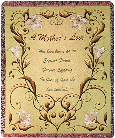 Amazon.com: Manual Mothers Day Collection 50 x 60-Inch Tapestry ...