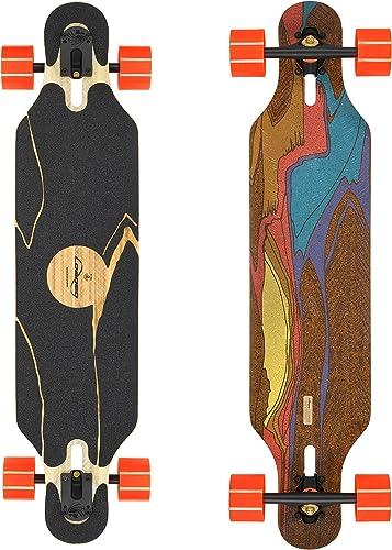 Loaded Boards Icarus Bamboo Longboard Skateboard Complete