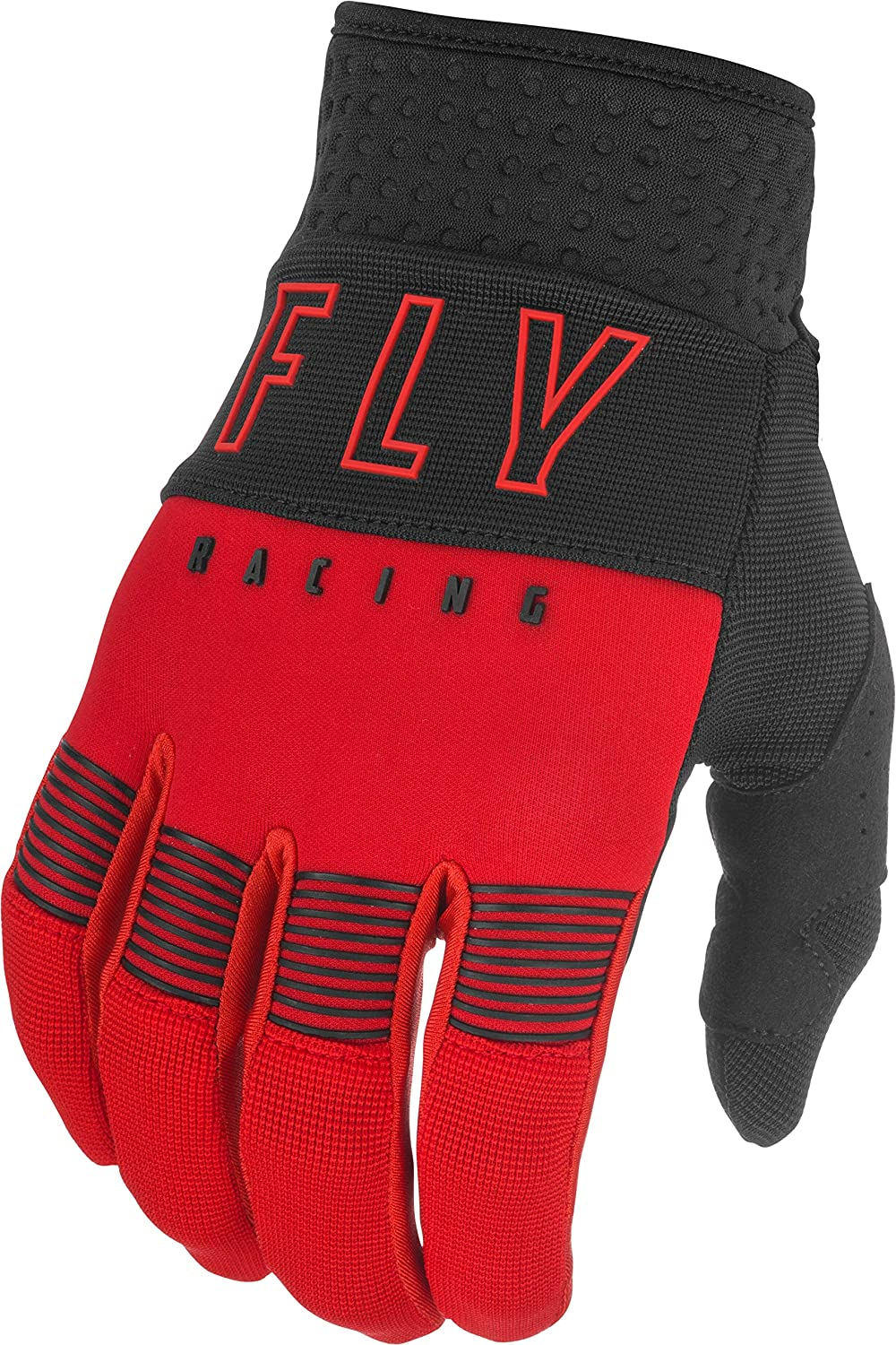 FLY Racing Adult F-16 Gloves Padded Palm Reinforced Thumb Silicone Grip Protective Neoprene Motorcycle Hand Gear