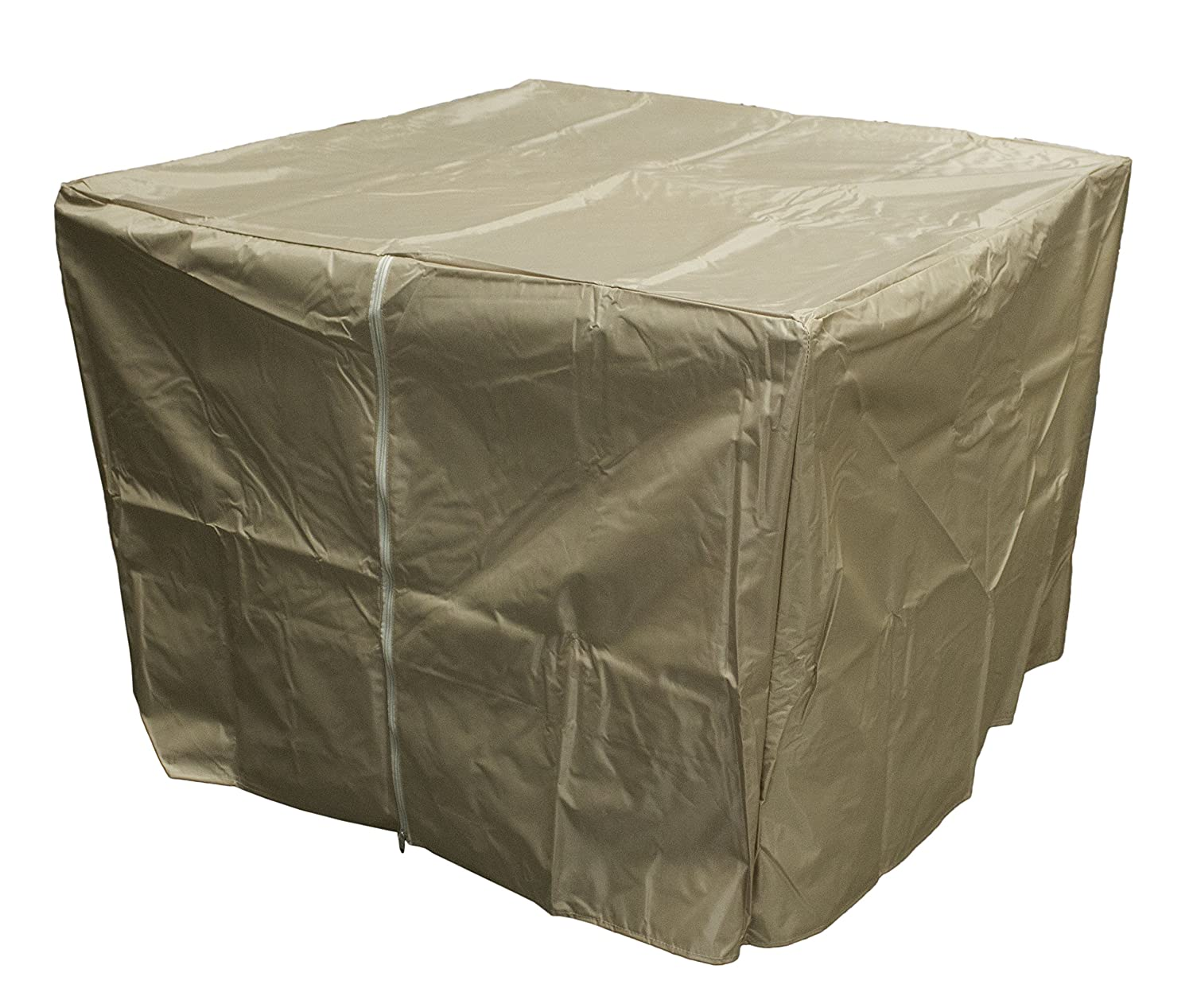Amazon.com: AZ Patio Heater Heavy Duty Waterproof Propane Fire Pit Cover    39 X 39 X 28   Tan: Garden U0026 Outdoor