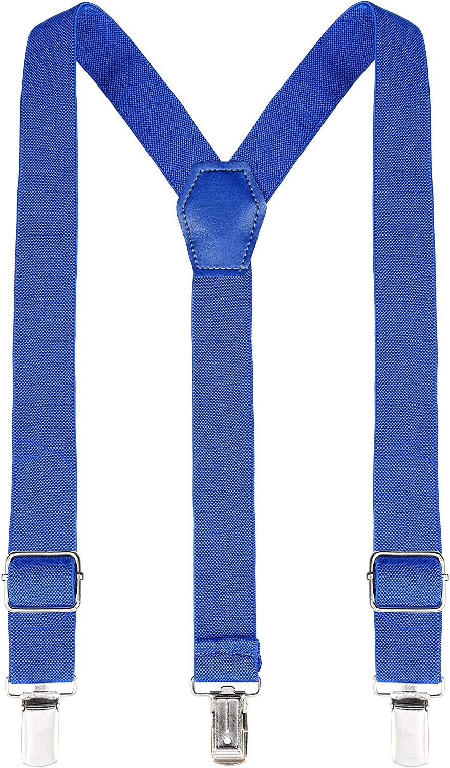 Lilax Boys Solid Color Adjustable Elastic Suspender /& Bow Tie for Kids and Baby