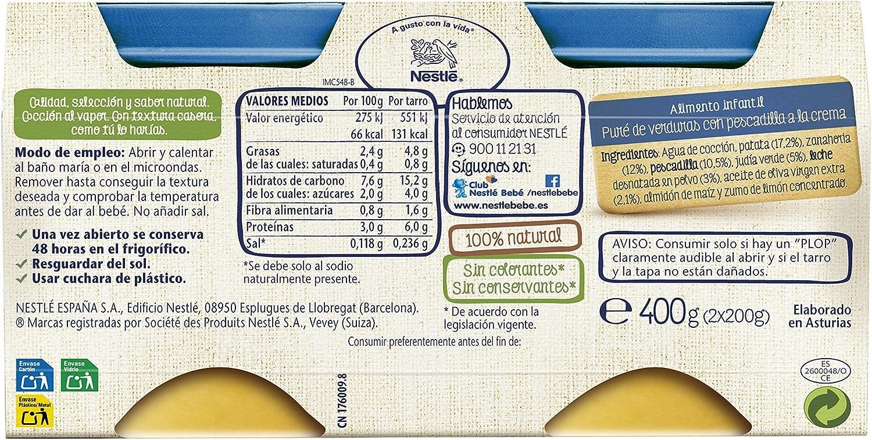 Nestlé Selección Tarrito de puré de verduras y pescado ...