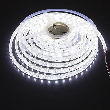 Amazon ledmy led strip waterproof led light strip super bright ledmy led strip waterproof led light strip super bright dc12v 24w smd3528 300leds ip68 led underwater aloadofball Choice Image