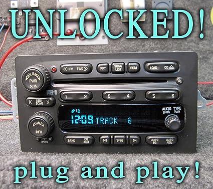Amazon com: UNLOCKED!! GM GMC CHEVY 6 CD CHANGER RADIO