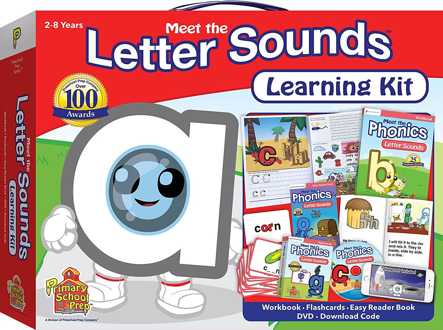 Cartoon Characters 8 Letters : Amazon.com: meet the letters sounds learning kit: preschool prep
