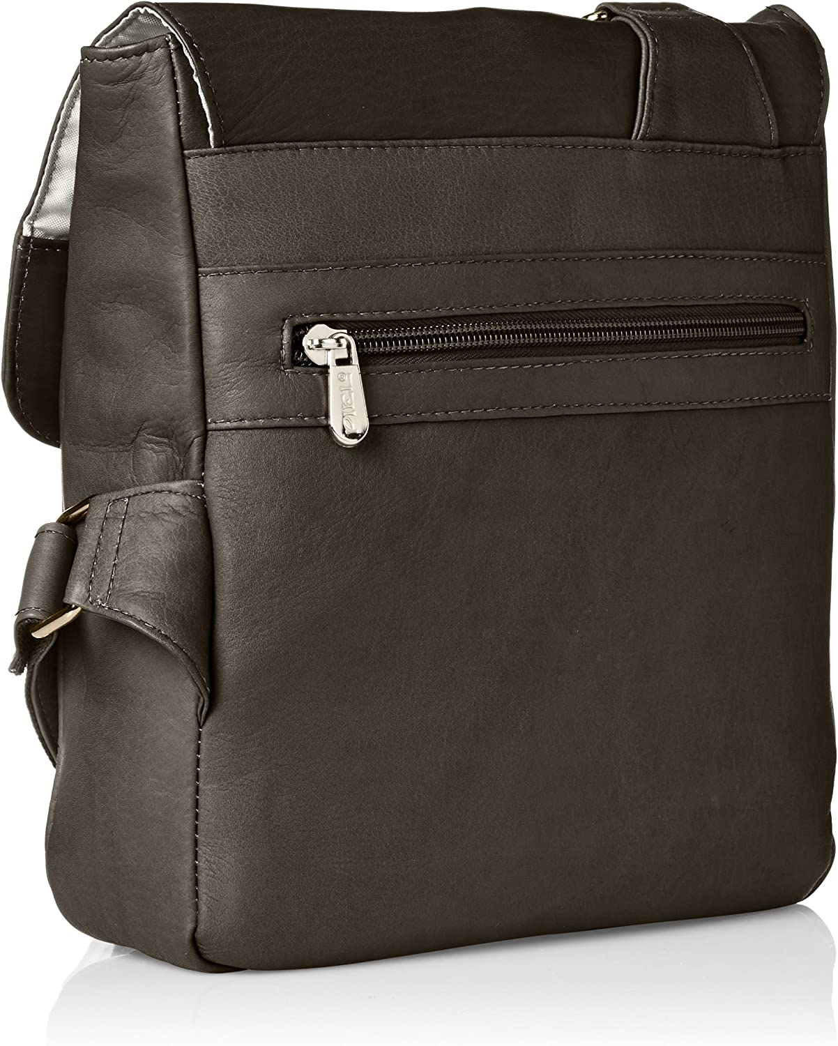Saddle Piel Leather Tablet Cross Body Bag One Size