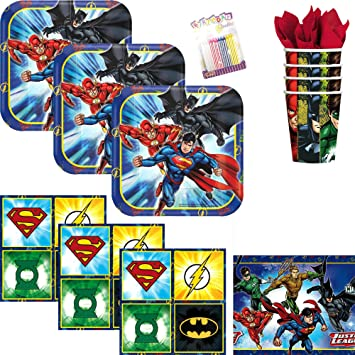 Lobyn Value Pack DC Comics Liga de la Justicia Superhéroes ...