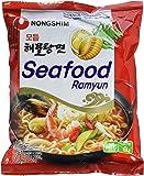 Nong Shim Instantnudeln Seafood Ramyun – Koreanische Seafood Ramen Suppe Modumheamul Tangmyun - schnelle Zubereitung – 20er Vorteilspack à 125g