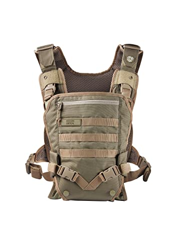 Men s Baby Carrier – Front Baby Carrier – Baby Carrier for Dads – by Mission Critical – Coyote