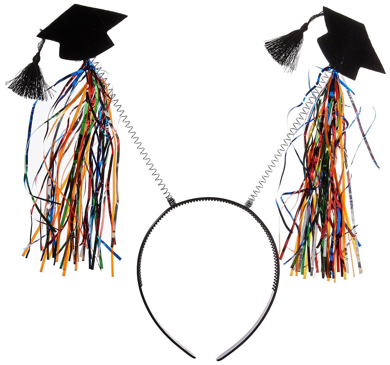 TradeMart Inc Party Favor 8 Ct Amscan Grad Head Bopper with Tinsel 396999