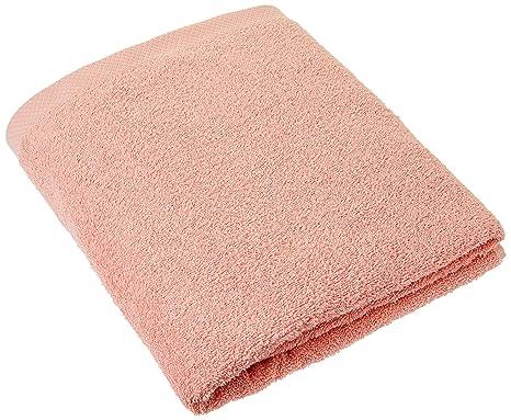 Lasa Home – Toalla de baño, algodón, Coral, 100 x 150 x 1