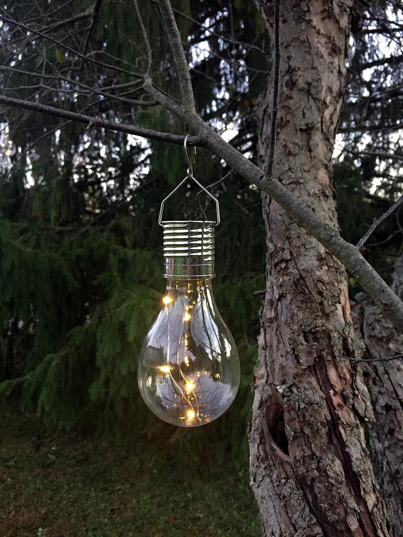 Hanging Industrial Rewind Solar Bulb