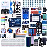 Elegoo UNO R3 Project Complete Starter Kit with Tutorial for Arduino (63 Items)