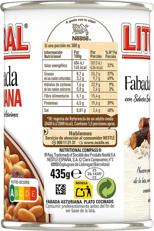 LITORAL Fabada Asturiana Plato Preparado de Fabada Asturiana ...