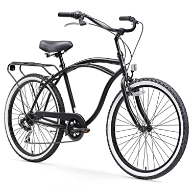 sixthreezero Around the Block Men's Cruiser Bike, 24  & 26