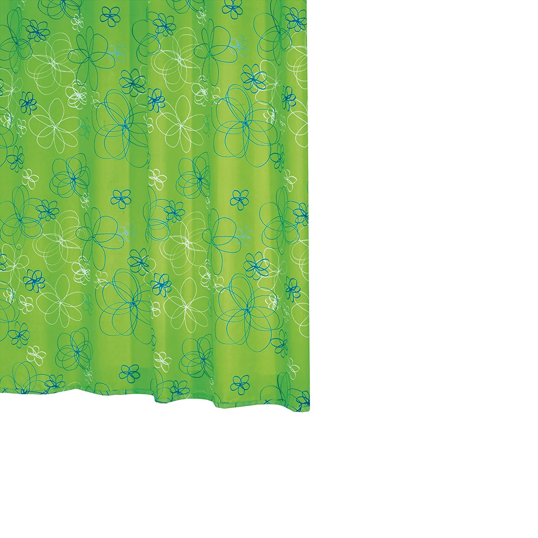 Ridder hula-hup 463050-350 Tenda doccia in tessuto 180x200 cm colore: Verde