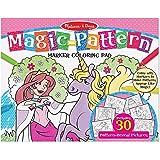 Melissa & Doug Magic Patterns Coloring Pad, Pink