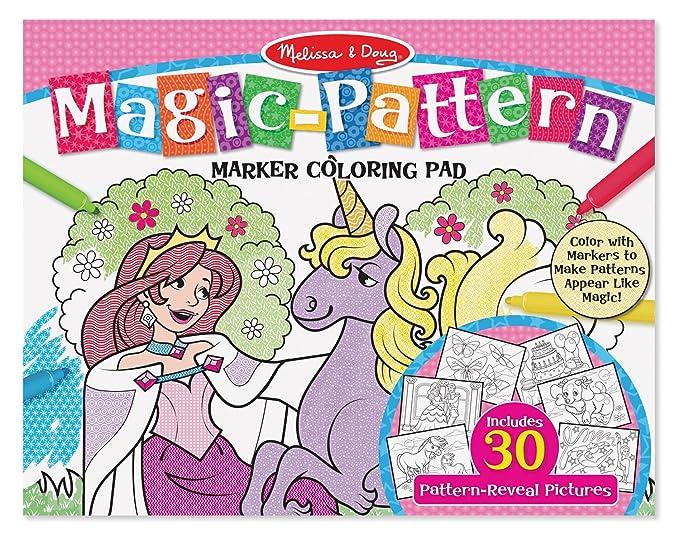 Melissa & Doug MagicPattern Marker Coloring Pad - Pink by ...