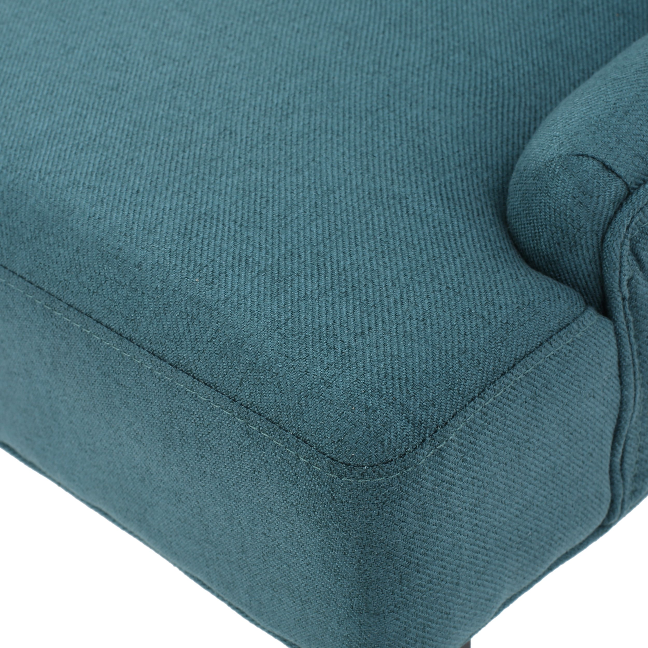 Christopher Knight Home 299537 Hayden Fabric Dining Chairs (Set of 2) Dark Teal by Christopher Knight Home (Image #6)