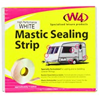 W4 Standard Mastic Sealing Strip - White, 5m x 32mm