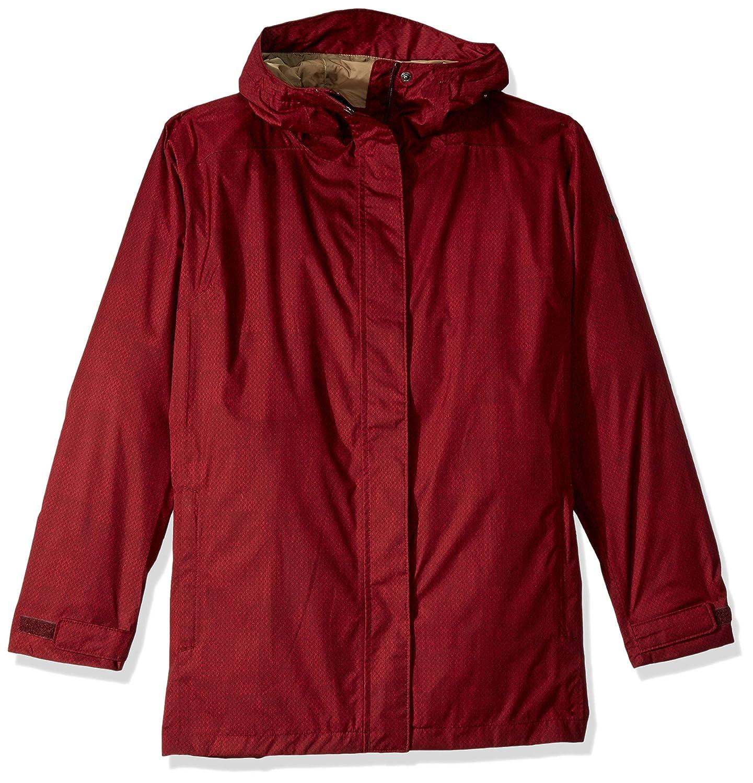 Columbia Women's Plus-Size Splash A Little II Jacket, Rich Wine Stars Print, 3X 1771063