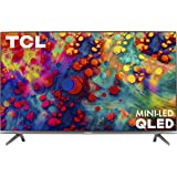 TCL 65-inch 6-Series 4K UHD Dolby Vision HDR QLED Roku Smart TV - 65R635, 2021 Model