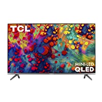 TCL 65-inch 6-Series 4K UHD Dolby Vision HDR QLED Roku Smart TV - 65R635, 2021 Model