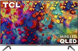 "TCL 55"" 6-Series 4K UHD Dolby Vision HDR QLED Roku Smart TV - 55R635"