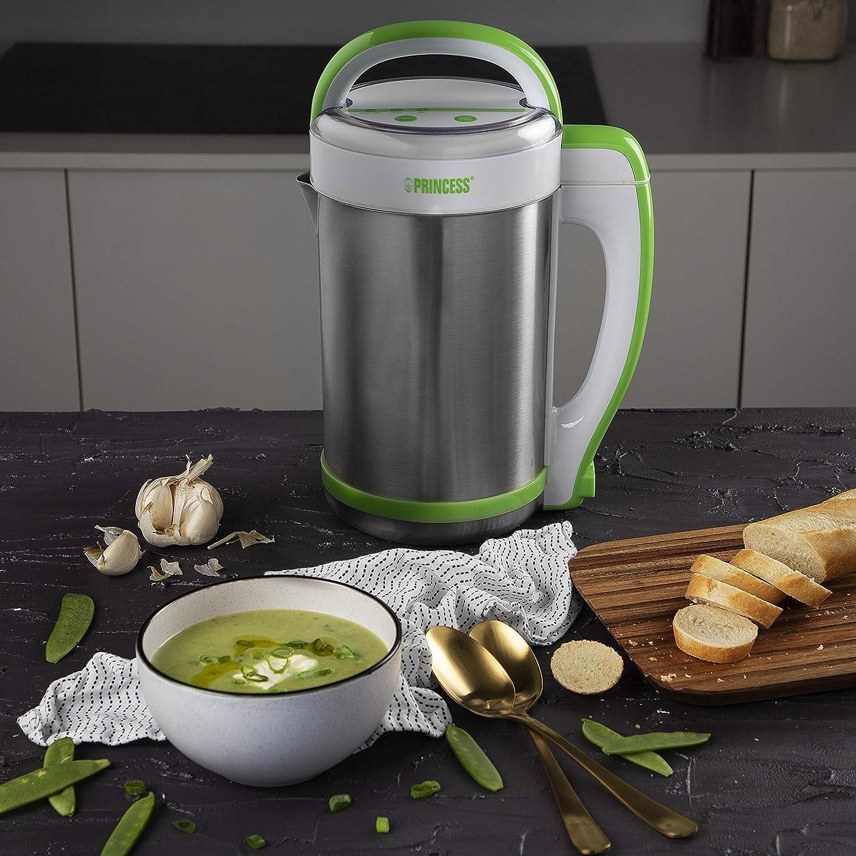 Princess 212040 - Licuadora eléctrica y máquina para hacer sopa, batidos o salsas, capacidad de 1.3 litros, completamente automática: Amazon.es: Hogar