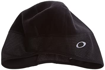 ef0cf8787c2 Oakley Windstopper Unisex Adults  Hat One Size Black  Amazon.co.uk ...