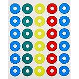 Reforço Autoadesivo Colorido 14.5mm, BIC, Pimaco, 886629, 150 Unidades
