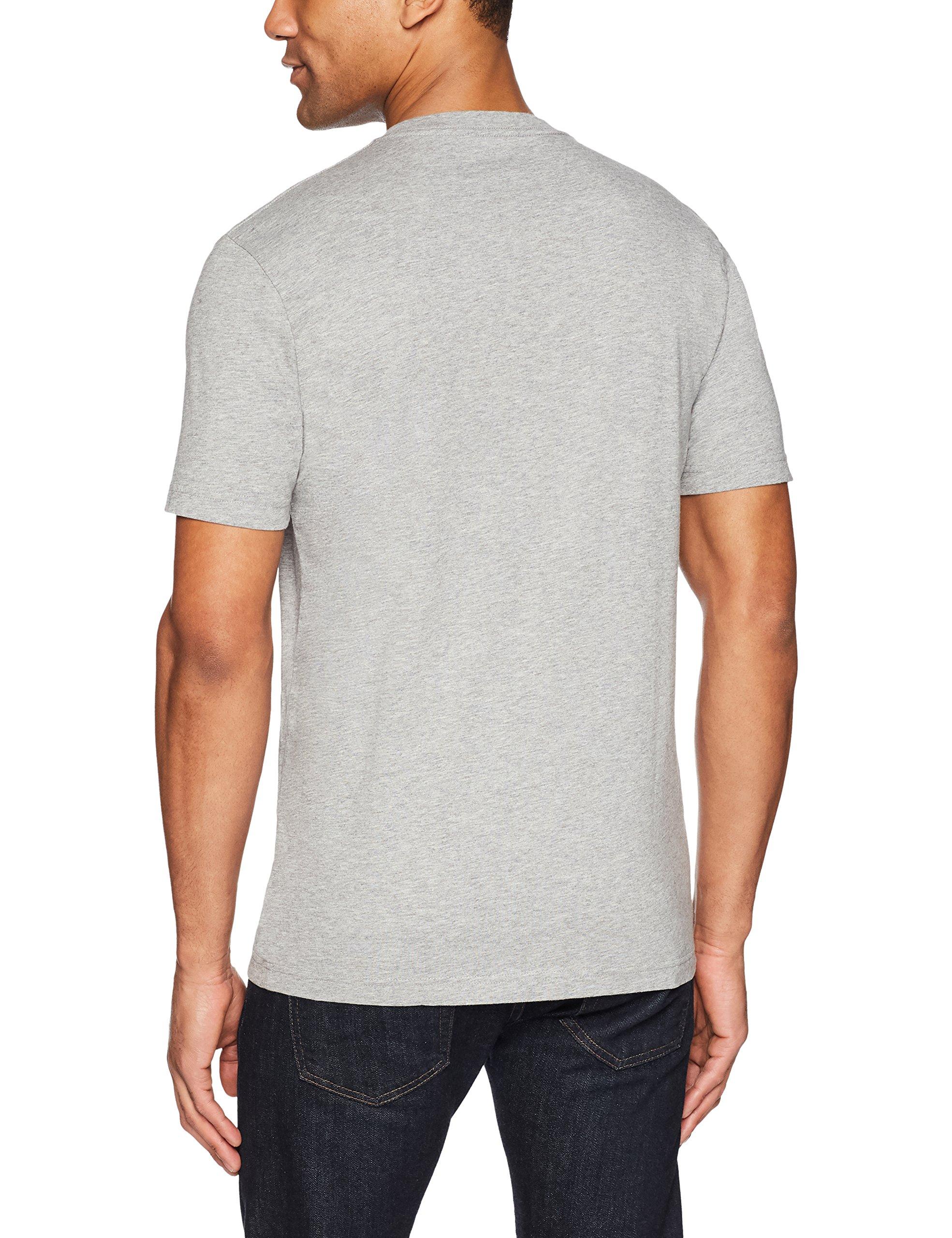 Goodthreads Men's Short-Sleeve V-Neck Cotton T-Shirt, Heather Grey, X-Large by Goodthreads (Image #4)