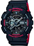 Casio G-Shock Herrenuhr Analog/Digital Quarz mit Resinarmband – GA-110HR-1AER