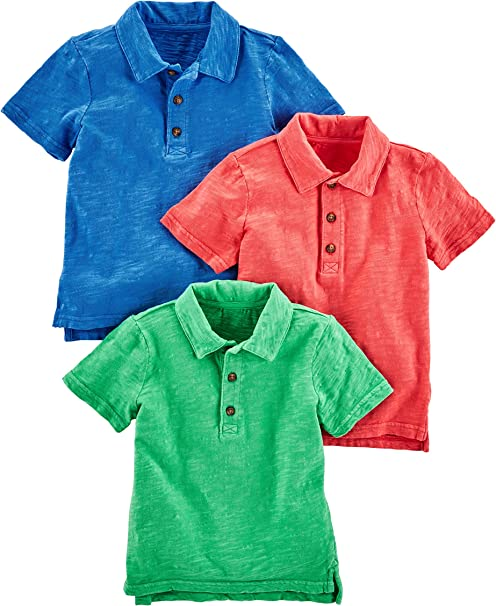 Simple Joys by Carters Toddler Boys 3-Pack Short-Sleeve Graphic Tees