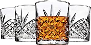 Godinger Dublin Double Old Fashioned Glasses, Set of 4