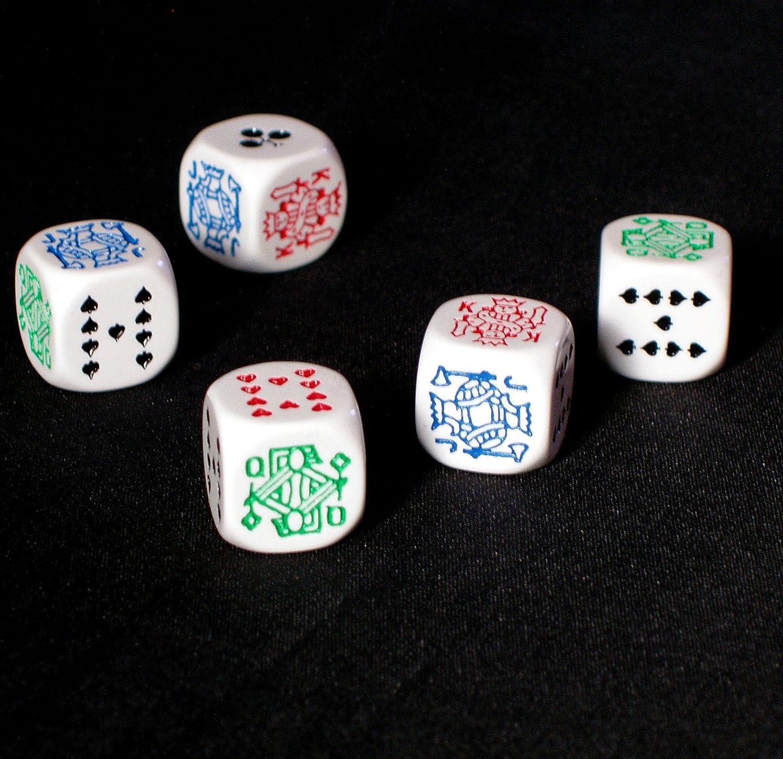 Poker Dadi pelle caso David Westnedge