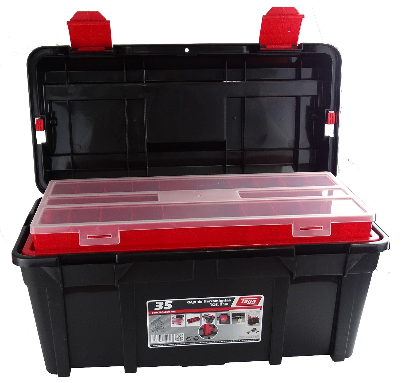 TAYG 4000871321 Sortimentkoffer Nr. 35 mit 2 Einlagen und Box 580 x 285 x 290 mm Kayser