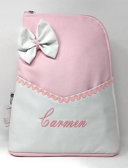 Mochila bolso carro Polipiel Personalizado - Color rosa
