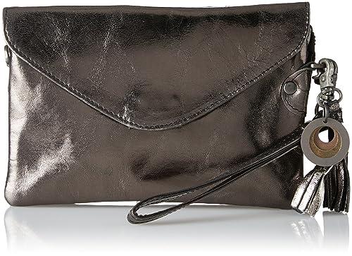 Legend Costa, Carteras de mano Mujer, Schwarz (Schwarz Metallic), 14x4x20 cm (W x H D): Amazon.es: Zapatos y complementos