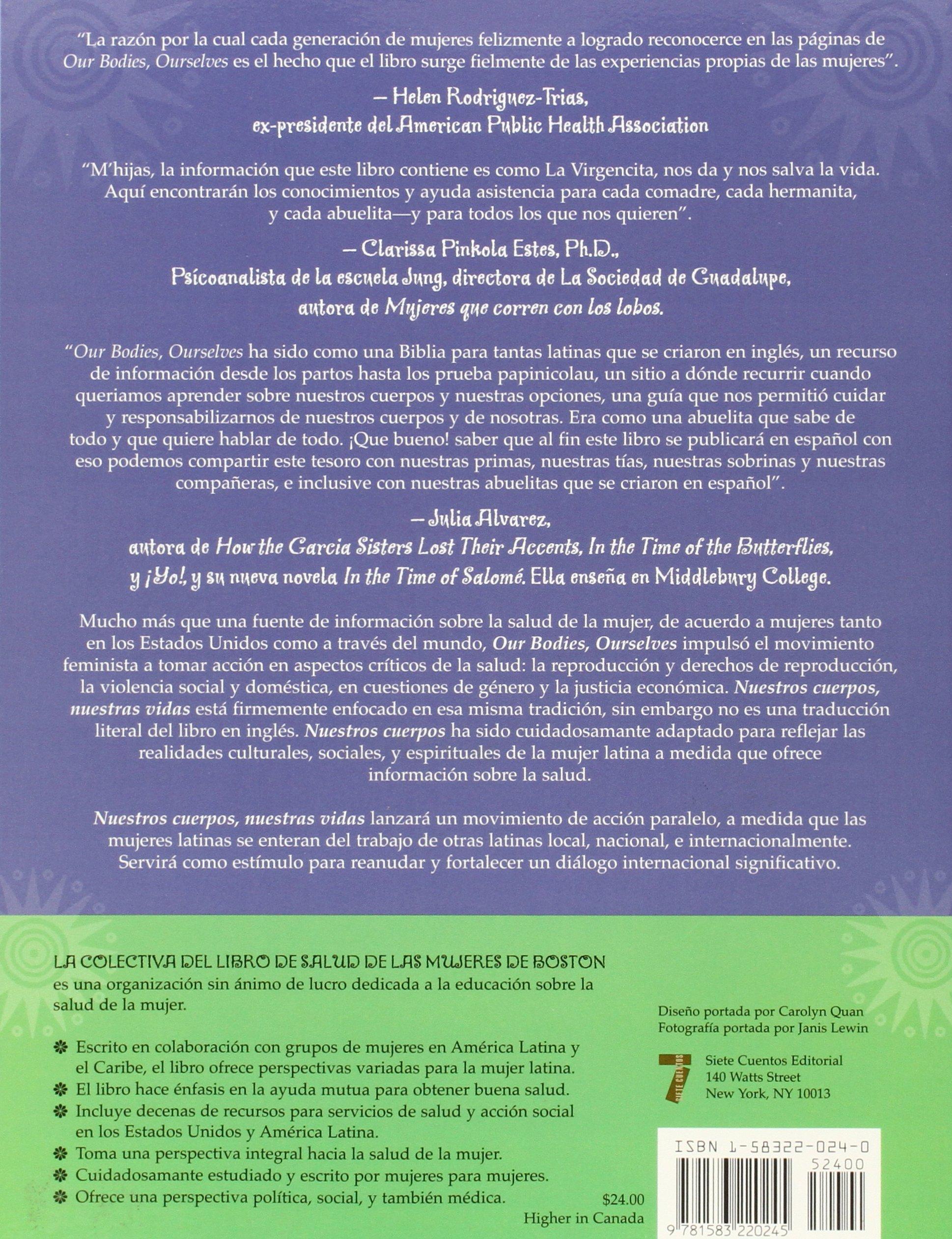 Nuestros Cuerpos, Nuestras Vidas: La Guia Definitiva Para La Salud ...