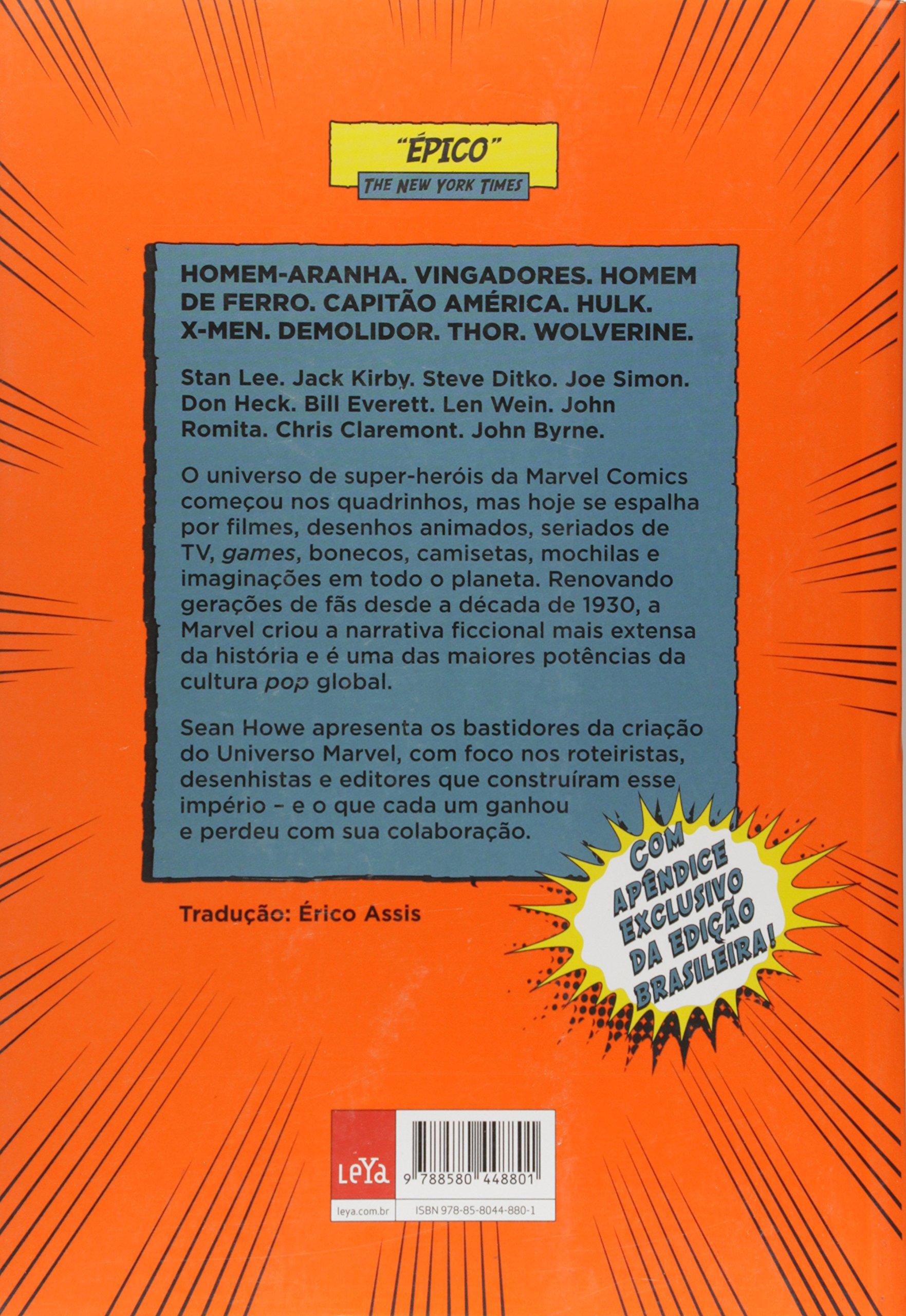 Marvel Comics: A Historia Secreta (Em Portugues do Brasil): Sean Howe, Erico Assis: 9788580448801: Amazon.com: Books