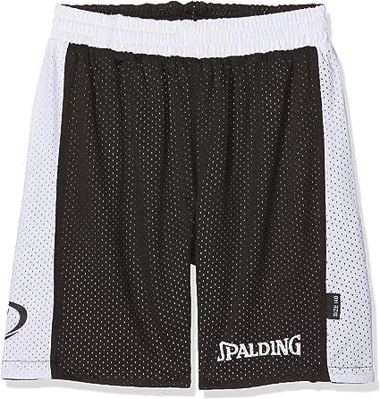 Spalding Essential Short de Basketball Essential Mixte Enfant